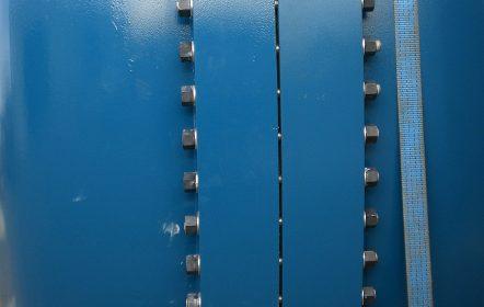 Flanschverbindung eines Hochdruckbehälters