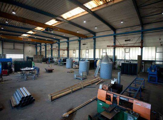 Hilgefort GmbH Rundgang durch die Anlagenfertigung
